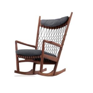 Ghế thư giãn bập bênh PP124 Chair rocking chair do Woodpro sản xuất