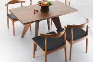 Bộ bàn ghế ăn không tay đẹp hiện đại