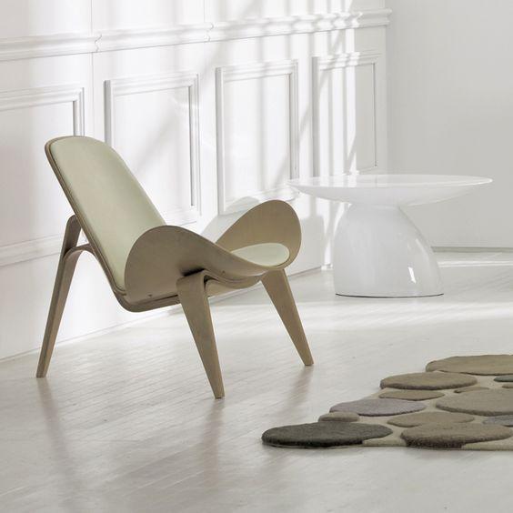 Ghế thư giãn Shell - Shell chair - kiệt tác của Hans J.Wegner