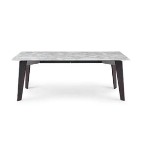 Bàn Howards table mặt đá gốc thạch anh nhân tạo