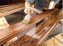 lớp phủ bề mặt gỗ