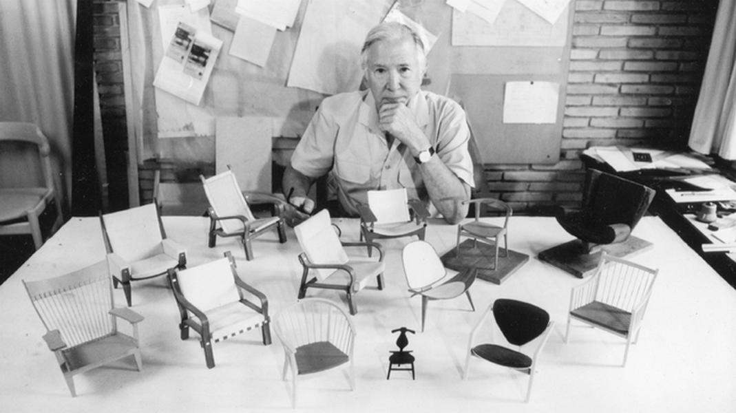 Nhà thiết kế Hans J.Wegner và những chiếc ghế tiêu biểu