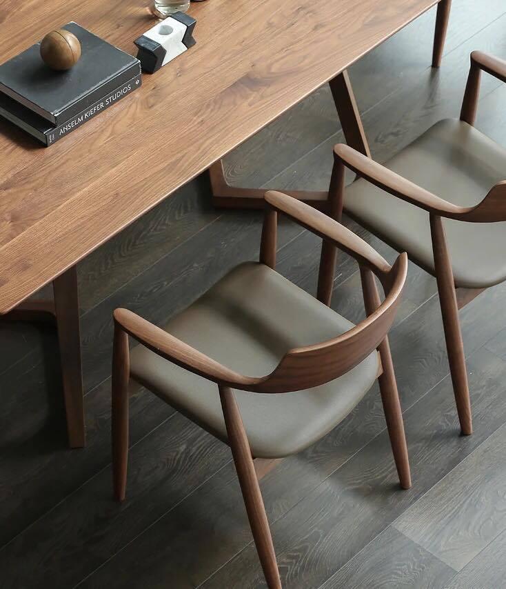 Bộ bàn ghế ăn 4 ghế Hiroshima chair