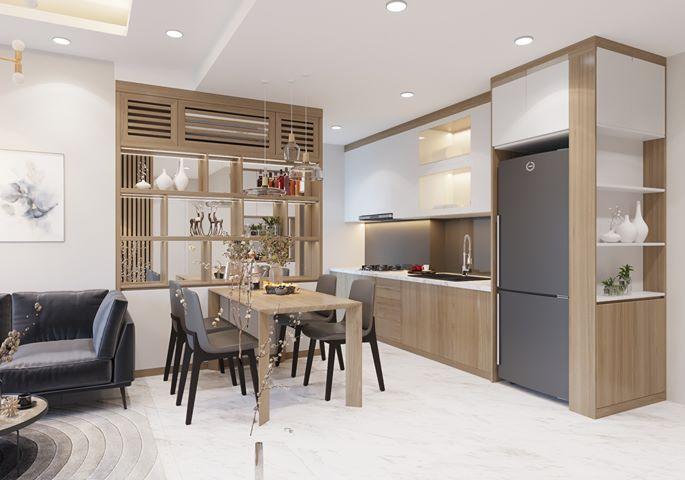 Bộ bàn ghế ăn dành cho chung cư có diện tích nhỏ