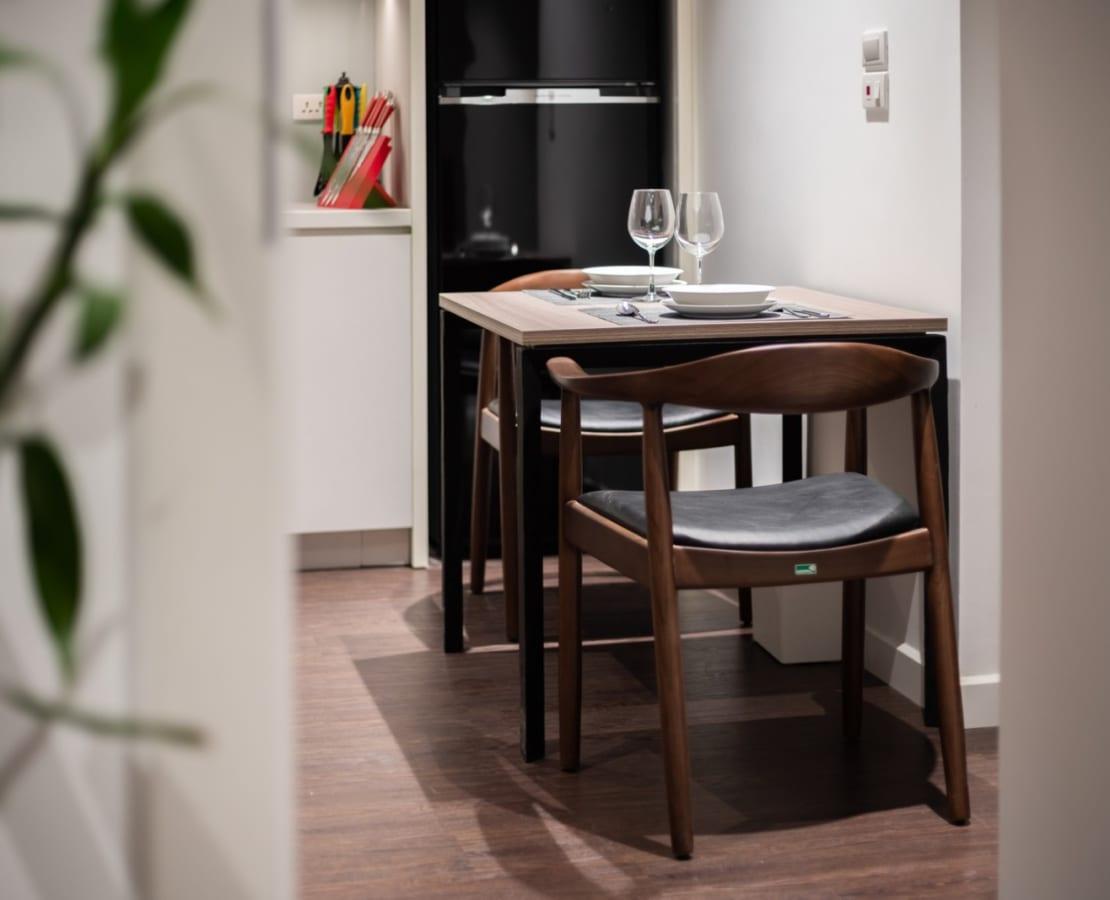 Bộ bàn ăn đẹp hiện đại
