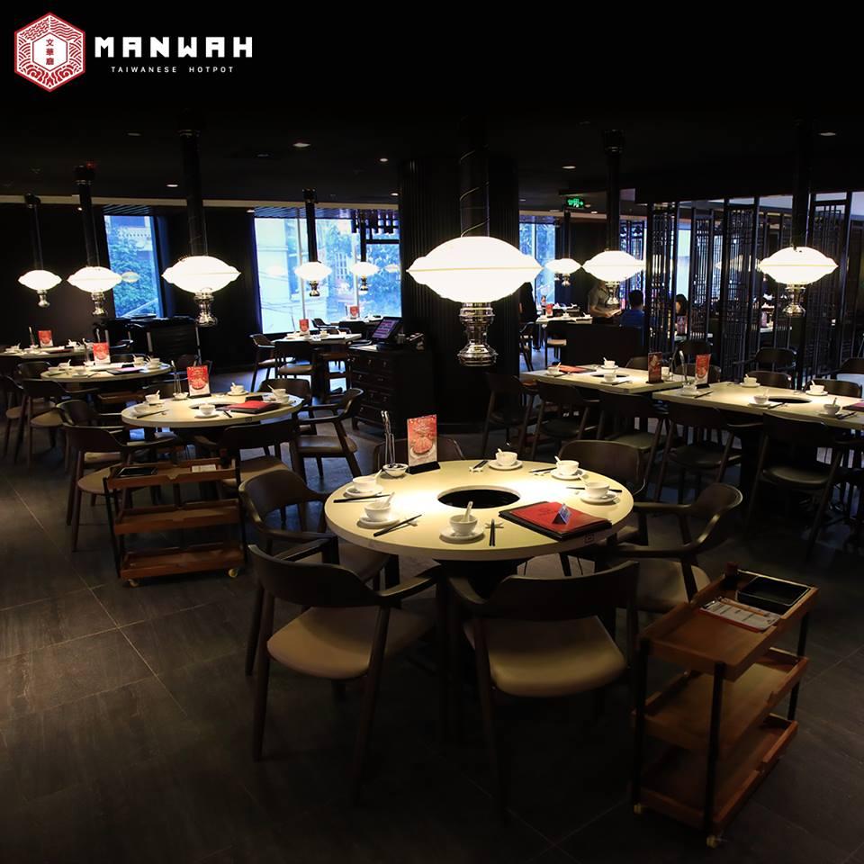 Bàn ghế nhà hàng đẹp được sản xuất bởi Woodpro